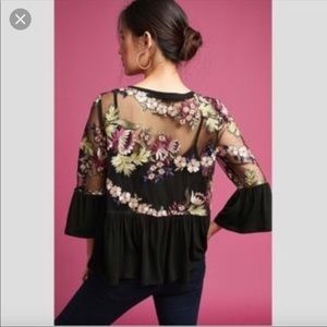 Anthropologie Tops - Beautiful Anthropologie embroidered top